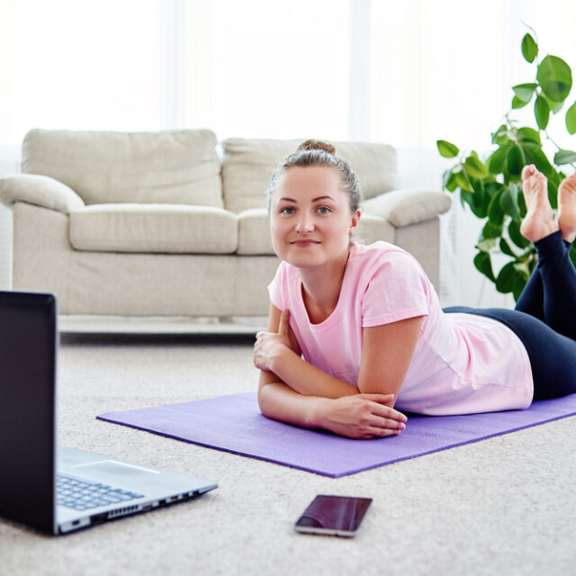 Living well with MS and online Pilates classes